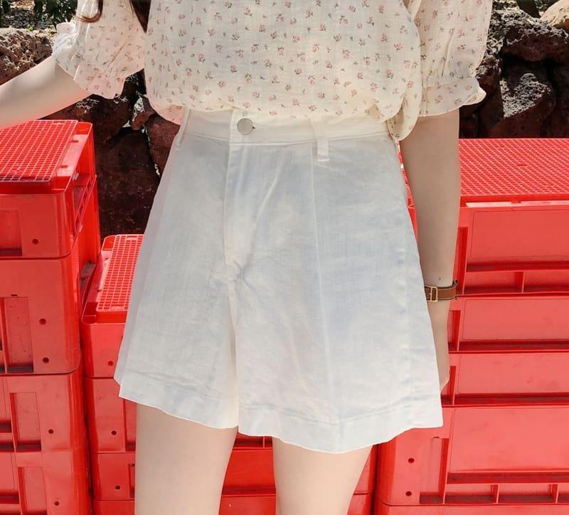 PERMIL - Korean Children Fashion - #Kfashion4kids - Tennis Fit Pleated Shorts - 4