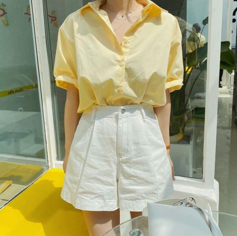 PERMIL - BRAND - Korean Children Fashion - #Kfashion4kids - Tennis Fit Pleated Shorts