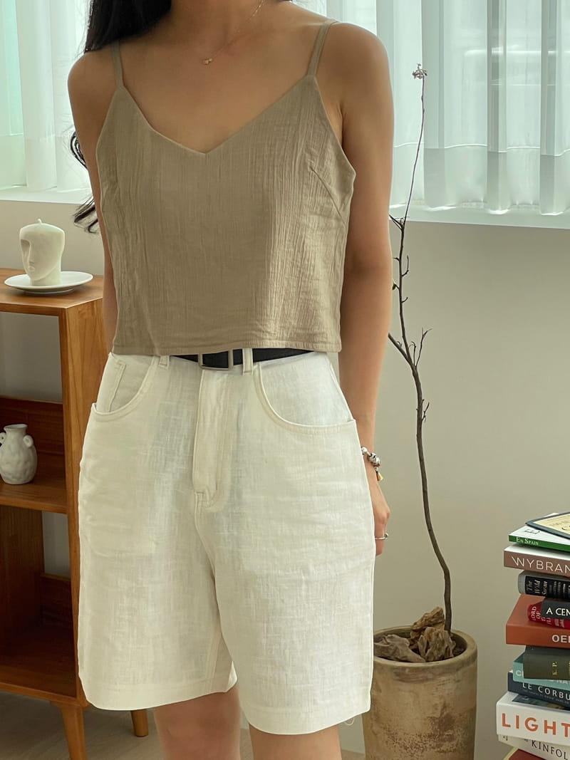 STAY - Korean Children Fashion - #Kfashion4kids - Linen Shorts - 2