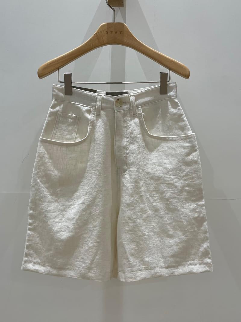 STAY - Korean Children Fashion - #Kfashion4kids - Linen Shorts - 3