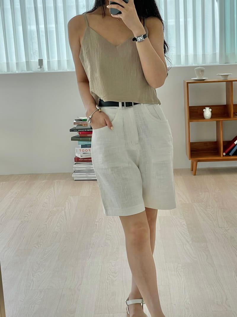 STAY - Korean Children Fashion - #Kfashion4kids - Linen Shorts - 4