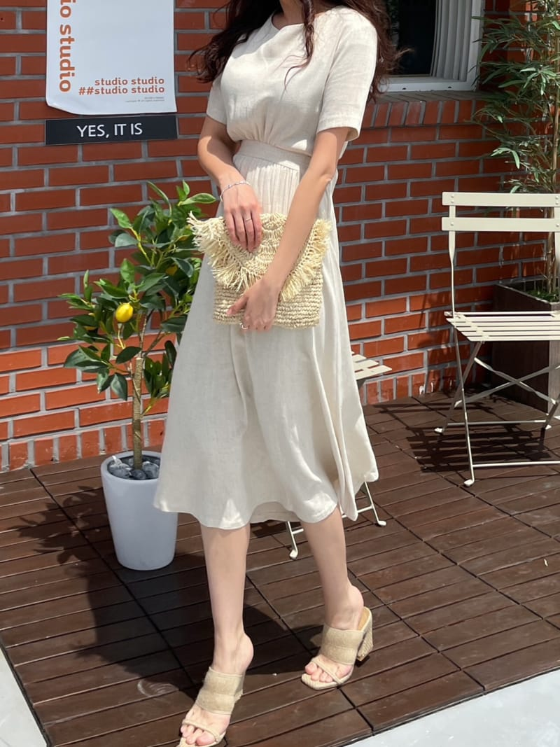 STAY - Korean Children Fashion - #Kfashion4kids - Button Slit One-piece - 2