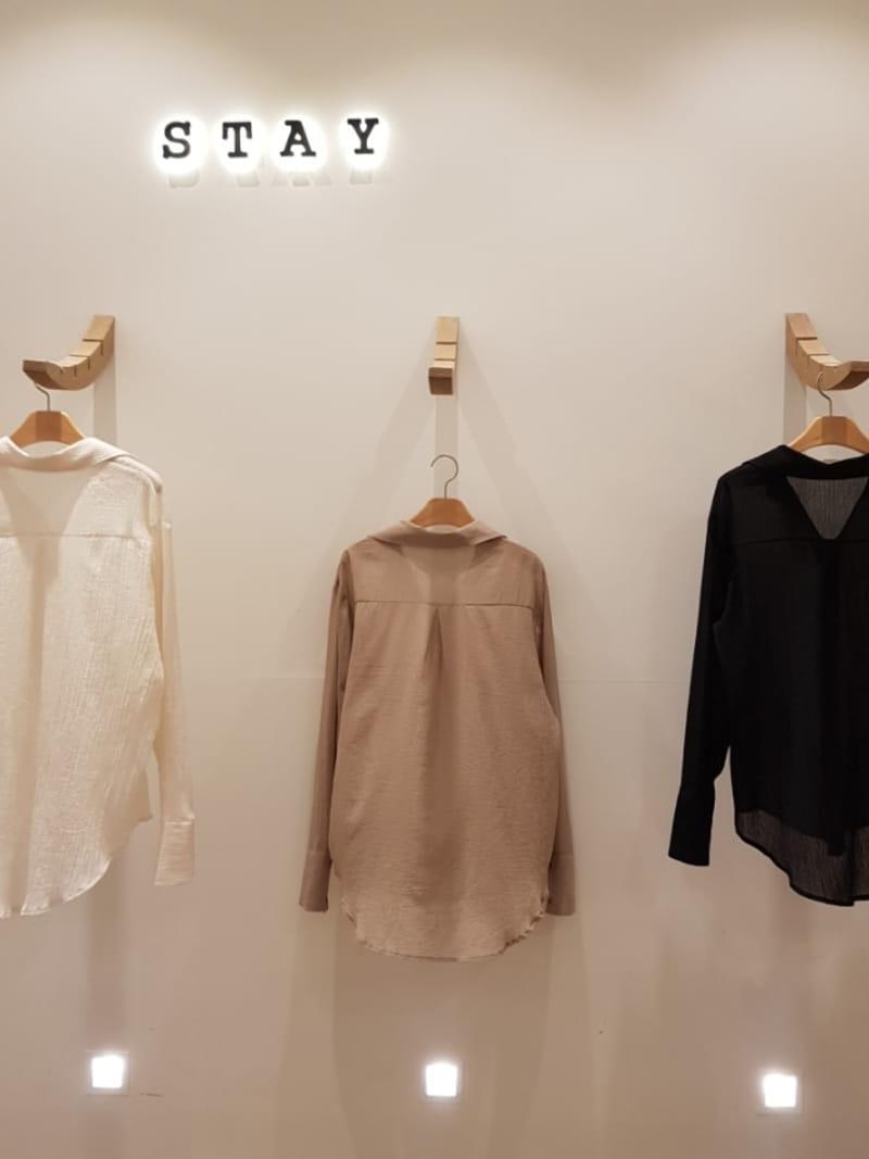 STAY - Korean Children Fashion - #Kfashion4kids - Yoru Wrinkle Blouse