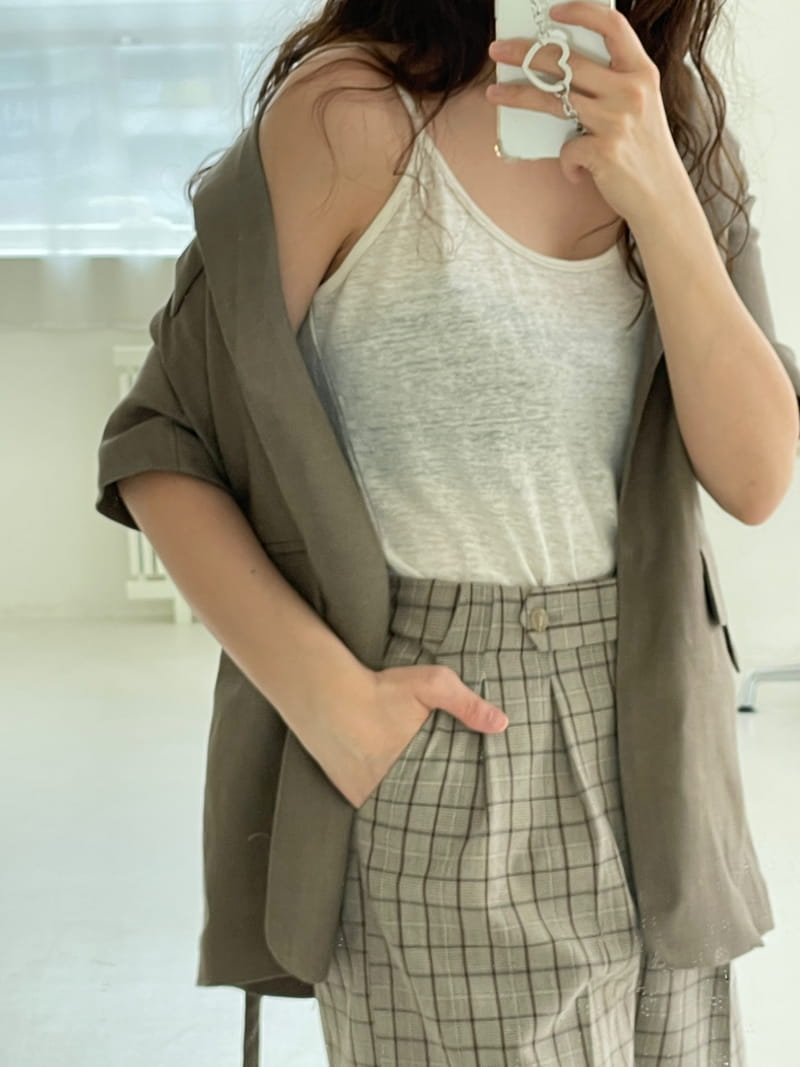 STAY - Korean Children Fashion - #Kfashion4kids - Linen Sleeveless