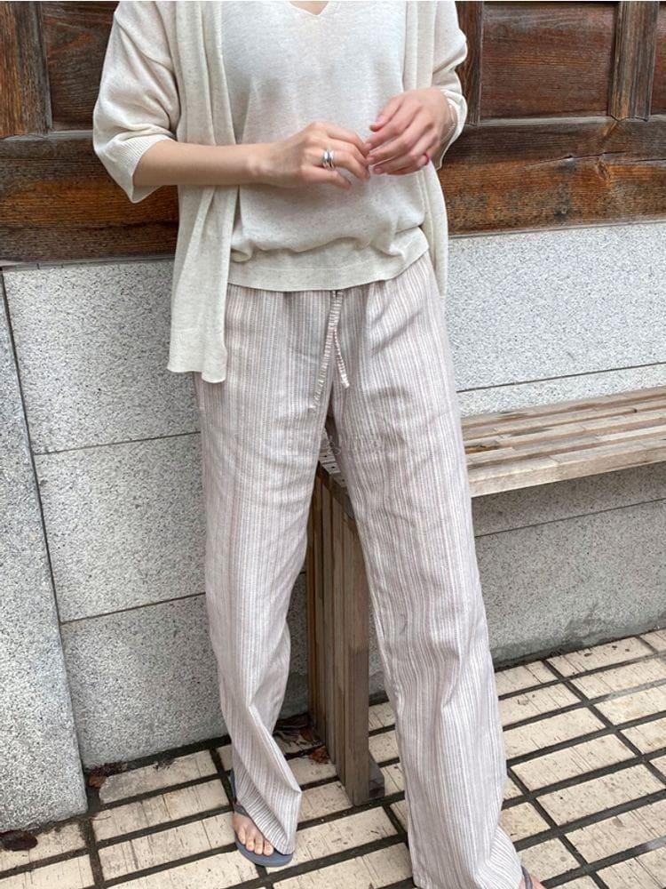 WEARING - Korean Children Fashion - #Kfashion4kids - Hippy Linen Pants