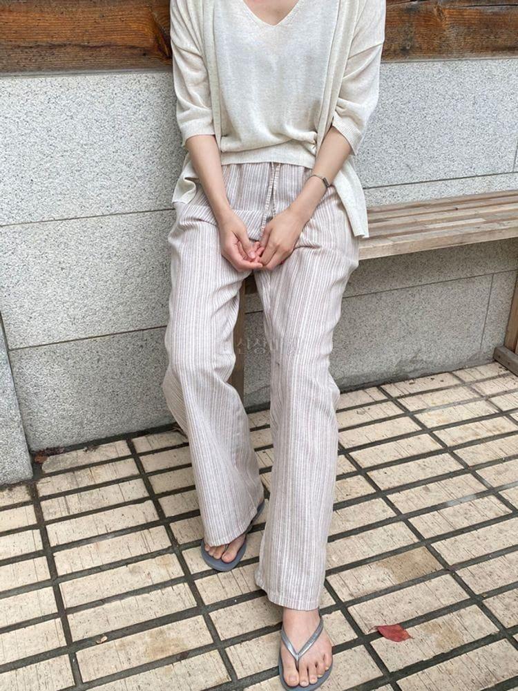 WEARING - Korean Children Fashion - #Kfashion4kids - Hippy Linen Pants - 4