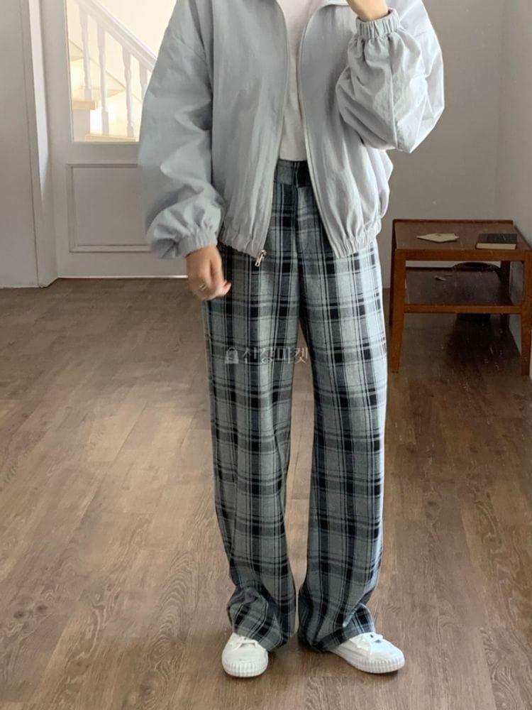 WEARING - Korean Children Fashion - #Kfashion4kids - Linda Check Slacks