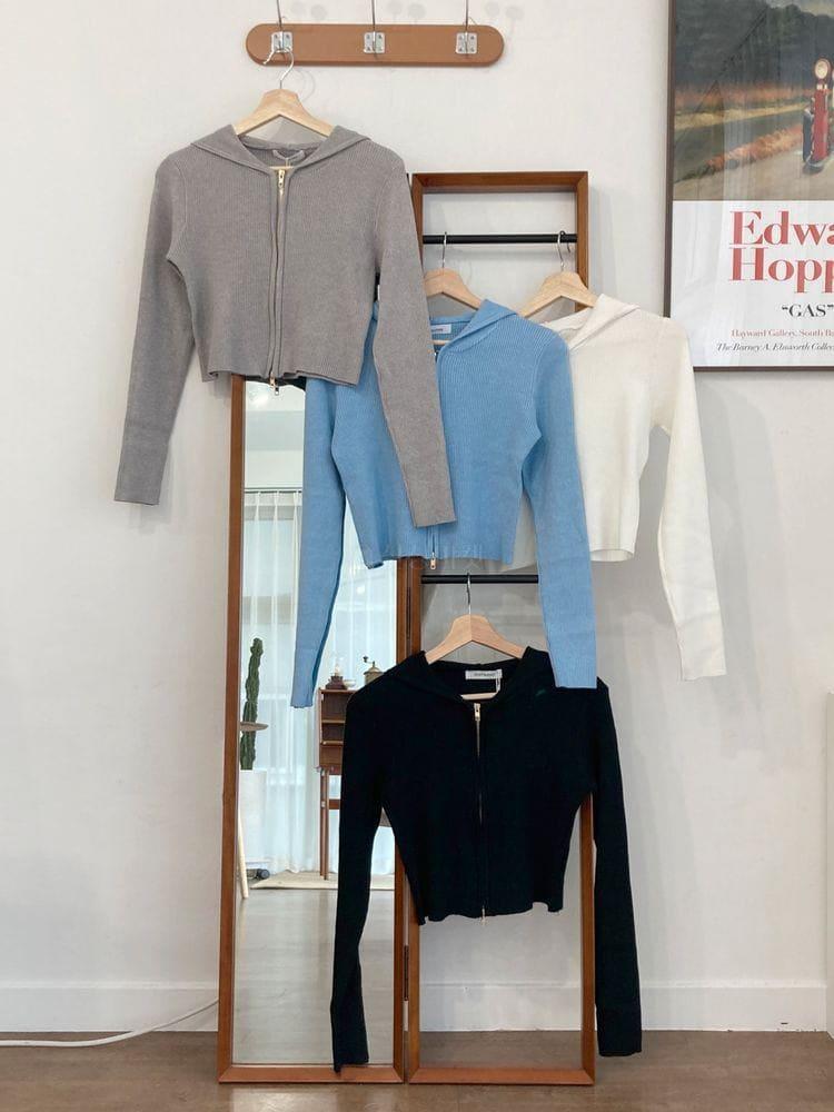 WEARING - Korean Children Fashion - #Kfashion4kids - Roly Hood Zip-Up - 4