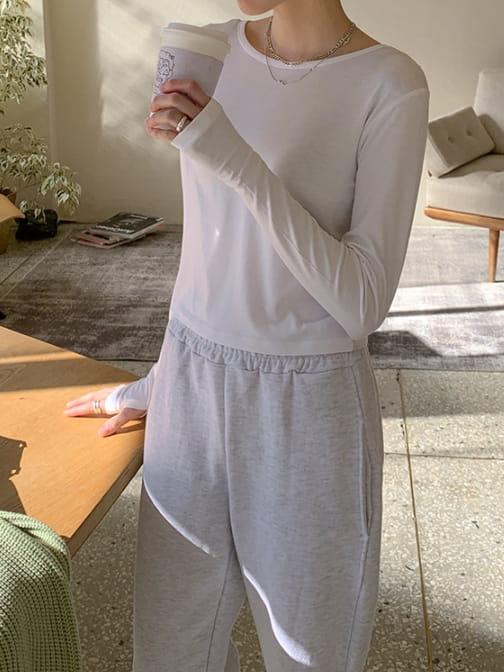 WEARING - Korean Children Fashion - #Kfashion4kids - Warmer Long Sleeve Tee - 2