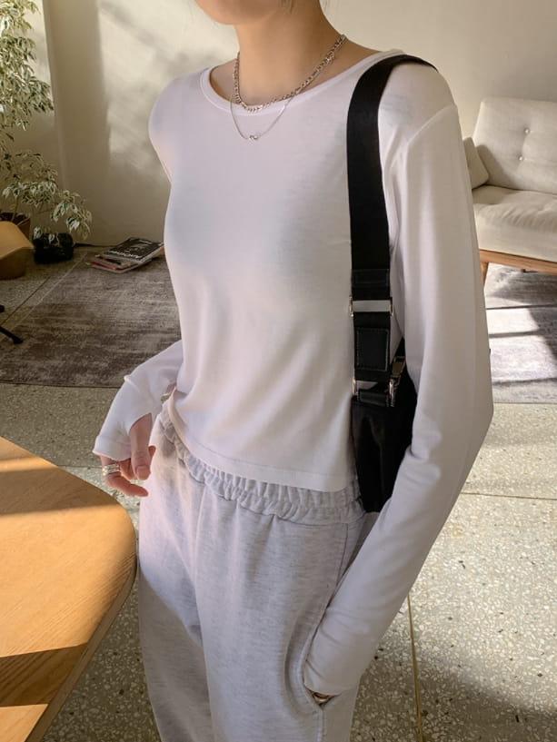 WEARING - BRAND - Korean Children Fashion - #Kfashion4kids - Warmer Long Sleeve Tee
