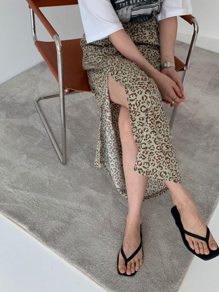 WEARING - Korean Children Fashion - #Kfashion4kids - Leopard Skirt