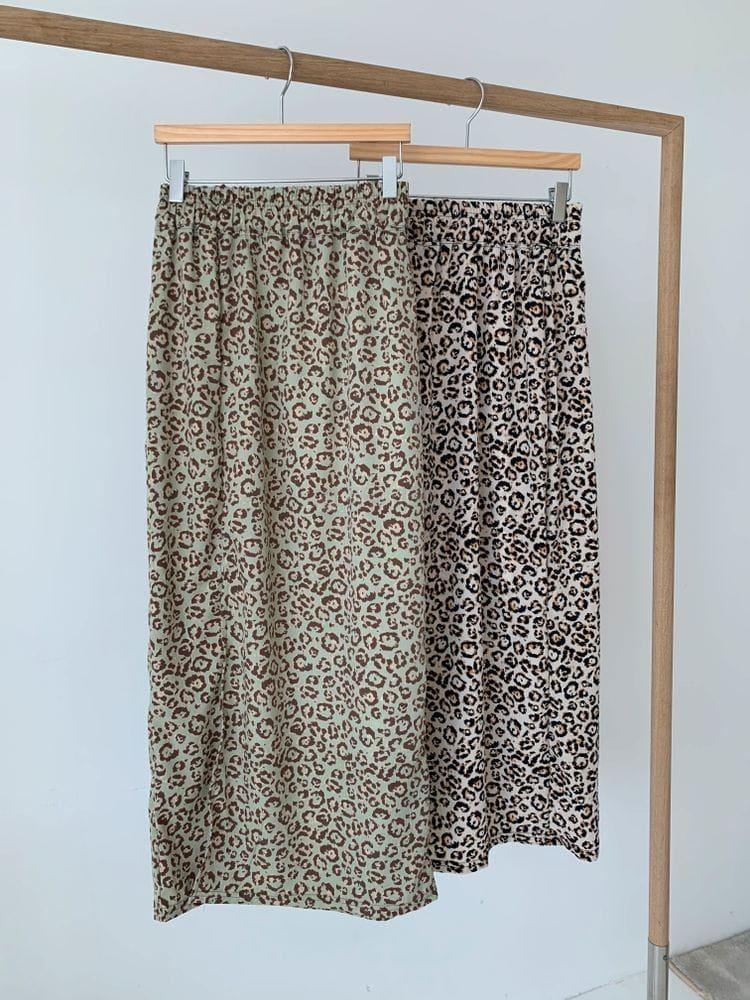 WEARING - Korean Children Fashion - #Kfashion4kids - Leopard Skirt - 4