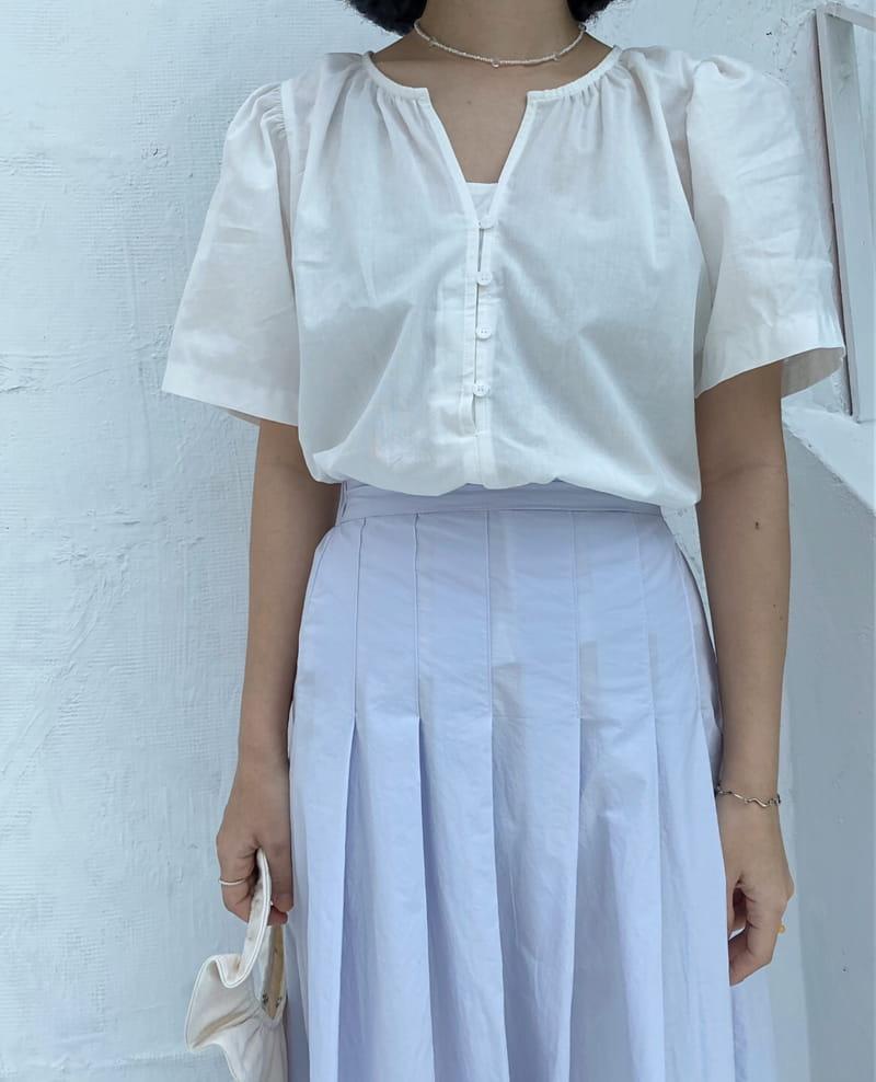 YES I LIKE YOU - Korean Children Fashion - #Kfashion4kids - Cos Blouse