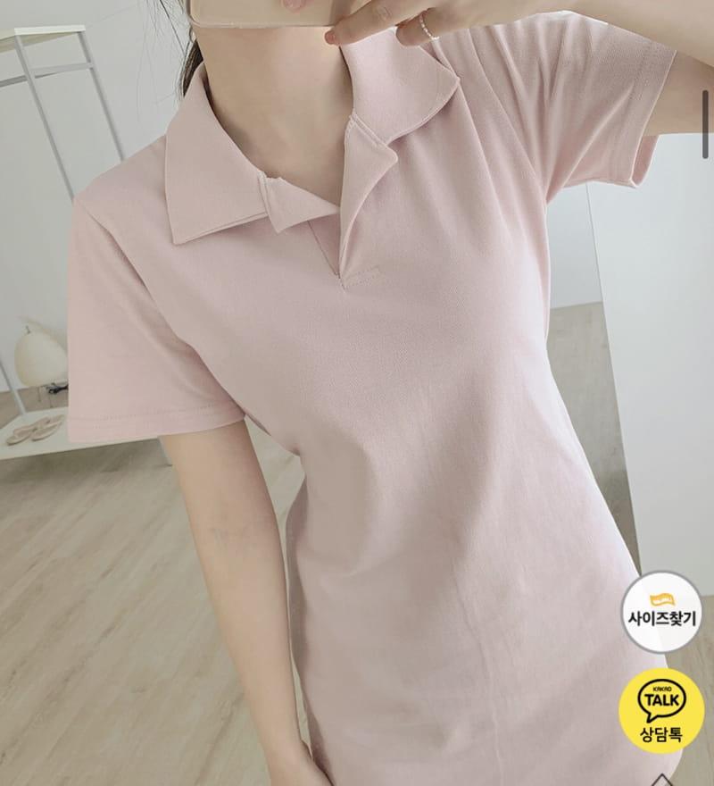 YES I LIKE YOU - Korean Children Fashion - #Kfashion4kids - Collar String One-piece