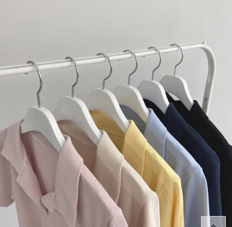 YES I LIKE YOU - Korean Children Fashion - #Kfashion4kids - Collar String One-piece - 4