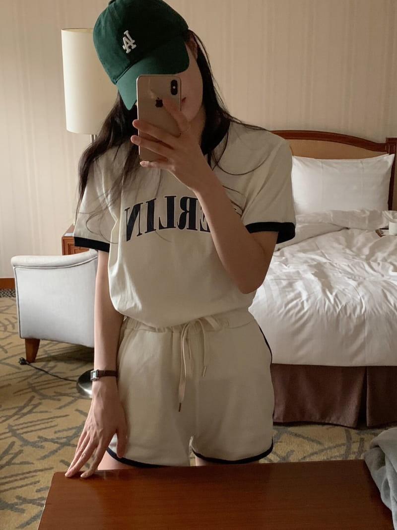 YES I LIKE YOU - Korean Children Fashion - #Kfashion4kids - Berlin Tee - 3