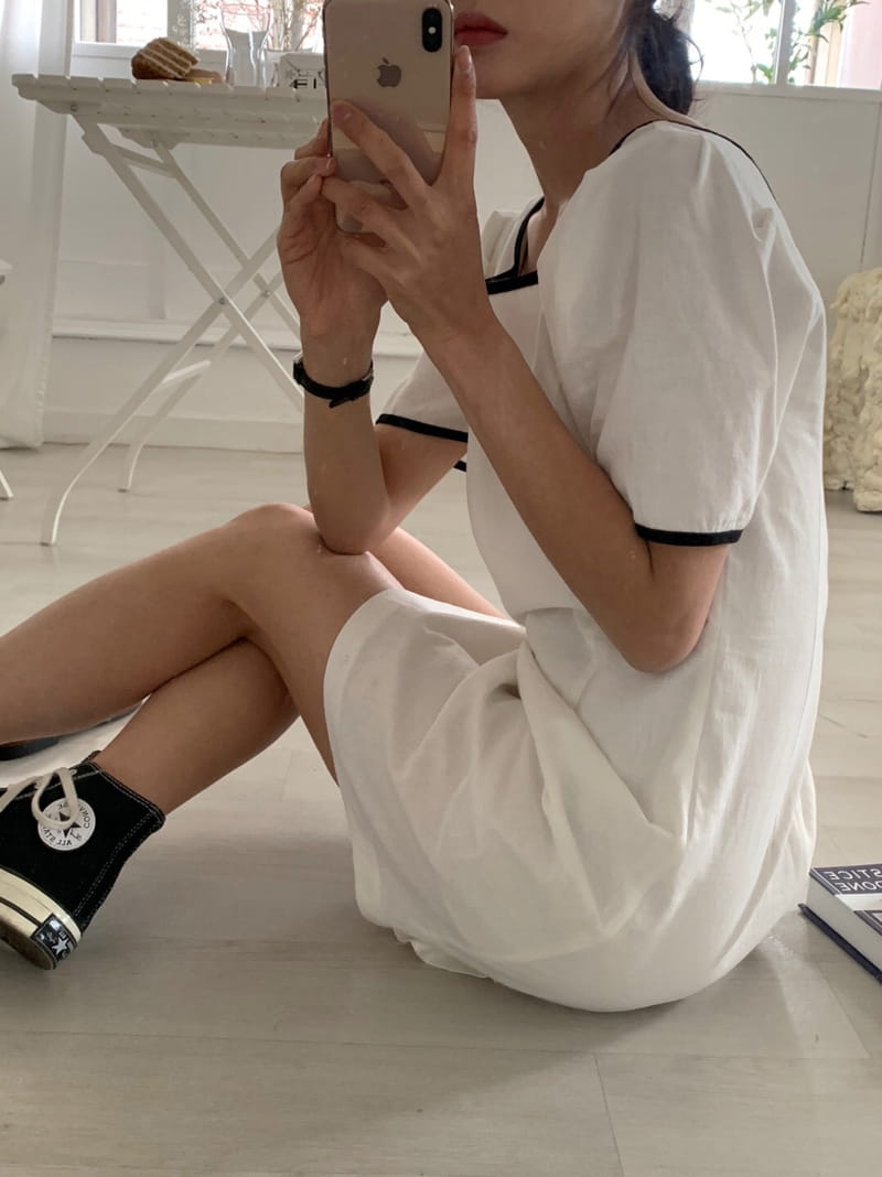 YES I LIKE YOU - Korean Children Fashion - #Kfashion4kids - Color Linee One-piece - 2