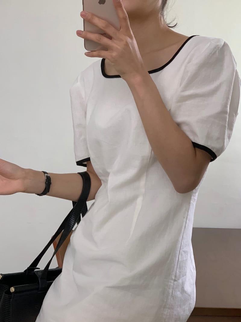 YES I LIKE YOU - BRAND - Korean Children Fashion - #Kfashion4kids - Color Linee One-piece