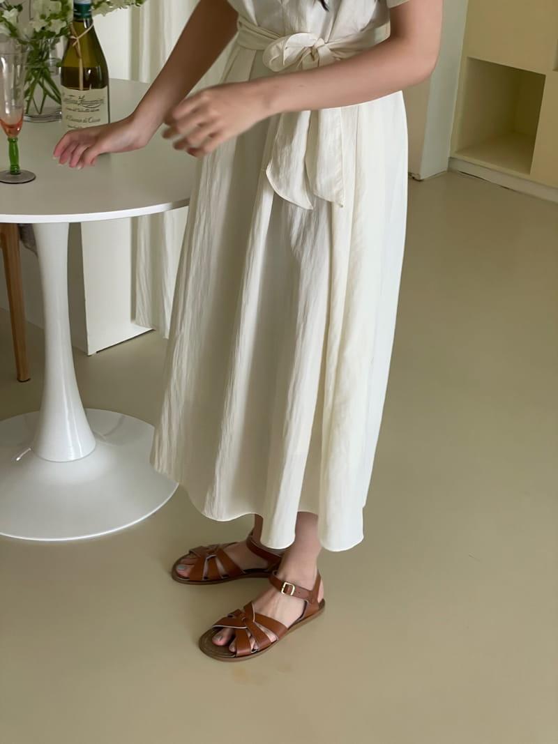YES I LIKE YOU - Korean Children Fashion - #Kfashion4kids - Short Sleeves Pintuck One-piece - 3