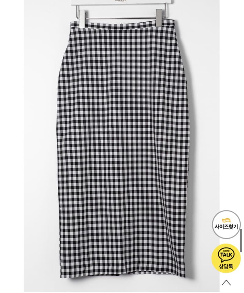 YES I LIKE YOU - Korean Children Fashion - #Kfashion4kids - Mimi Check Skirt - 3
