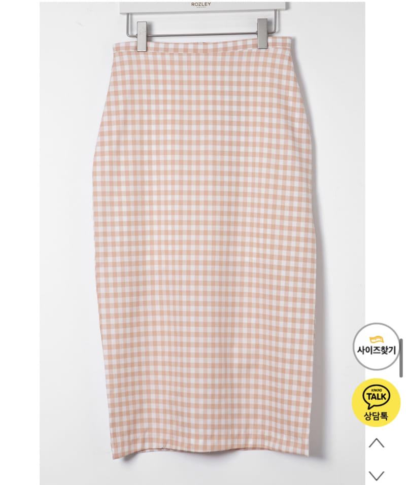 YES I LIKE YOU - Korean Children Fashion - #Kfashion4kids - Mimi Check Skirt - 4