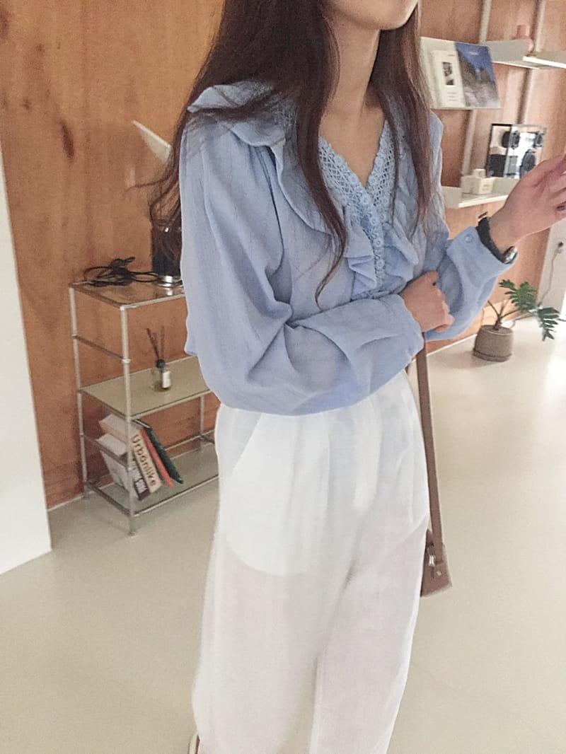YES I LIKE YOU - Korean Children Fashion - #Kfashion4kids - Linen Belt Pants - 2