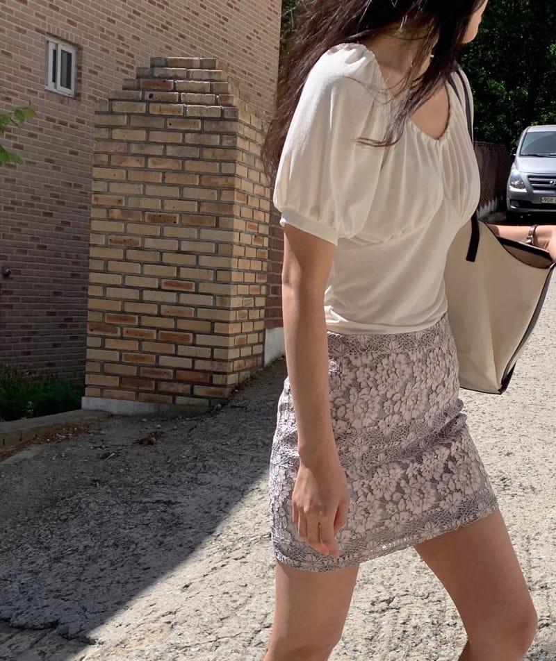 YES I LIKE YOU - Korean Children Fashion - #Kfashion4kids - Lace Two Tone Skirt - 3