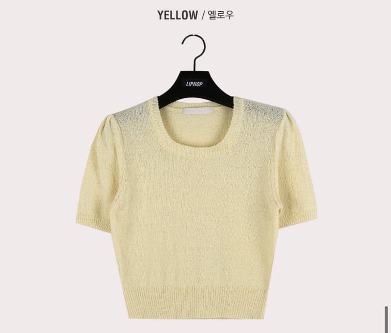 YES I LIKE YOU - Korean Children Fashion - #Kfashion4kids - Love Square Knit - 4