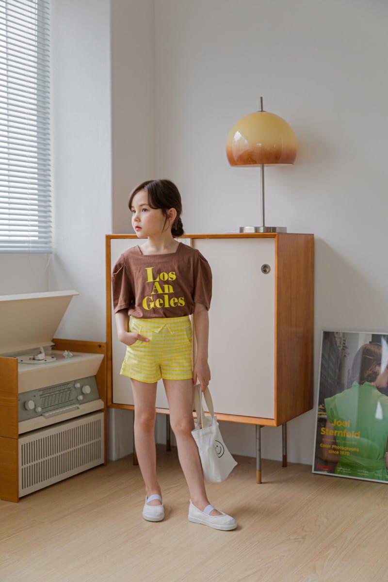 BERRY BERRY - Korean Children Fashion - #Kfashion4kids - Check Shorts - 10