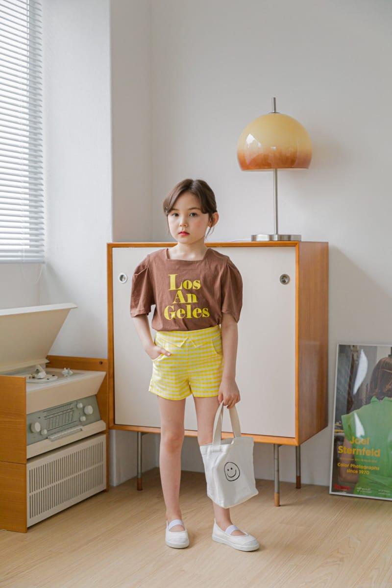 BERRY BERRY - Korean Children Fashion - #Kfashion4kids - Check Shorts - 11