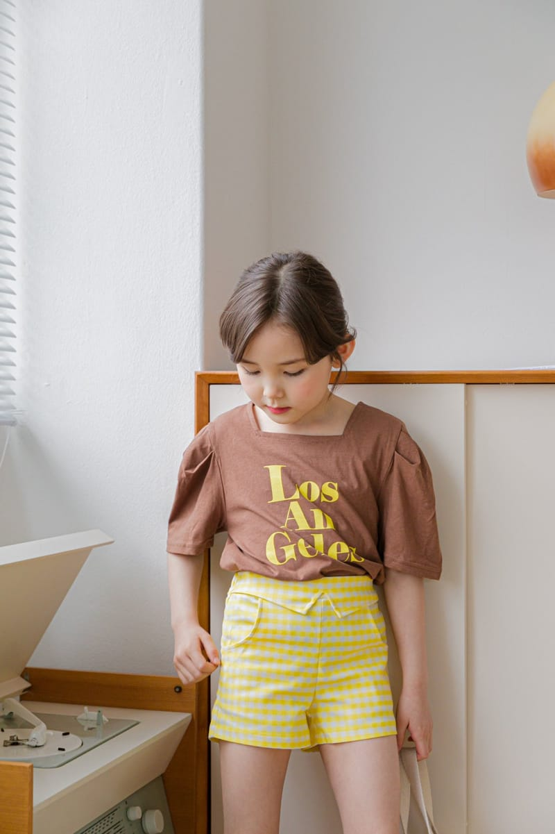 BERRY BERRY - Korean Children Fashion - #Kfashion4kids - Check Shorts - 12