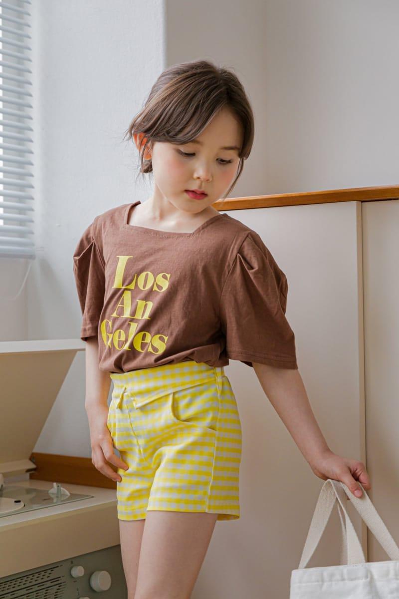 BERRY BERRY - Korean Children Fashion - #Kfashion4kids - Check Shorts - 3