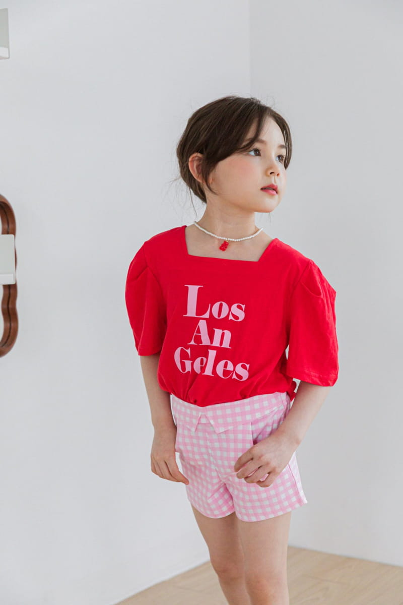 BERRY BERRY - Korean Children Fashion - #Kfashion4kids - Check Shorts - 4