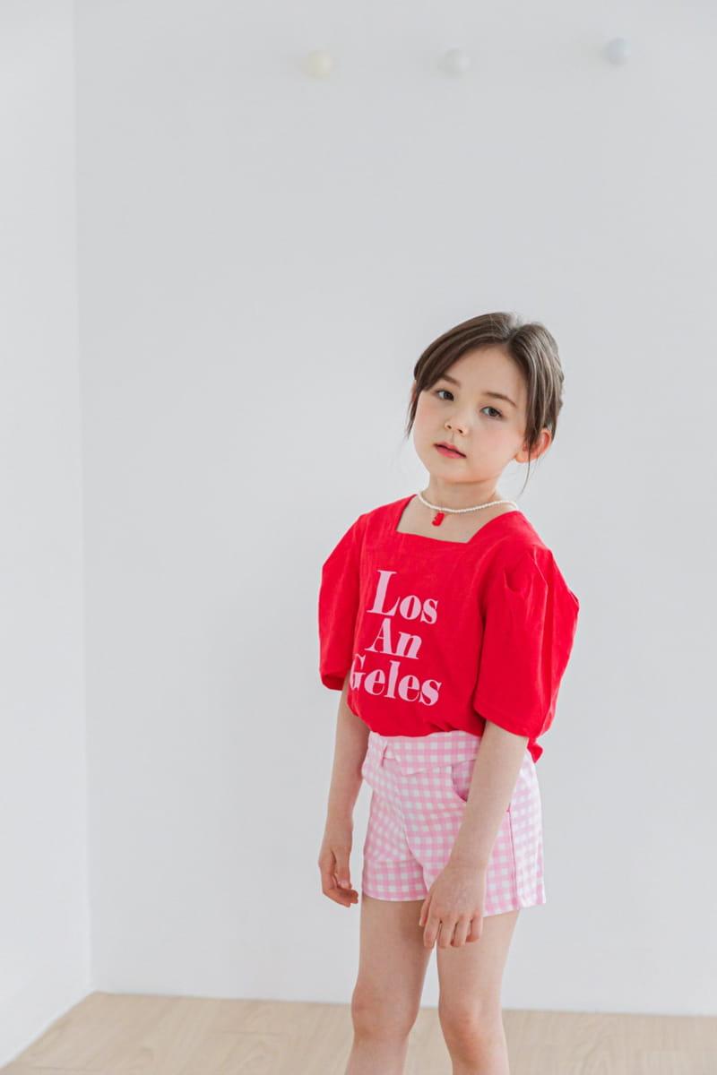 BERRY BERRY - Korean Children Fashion - #Kfashion4kids - Check Shorts - 6