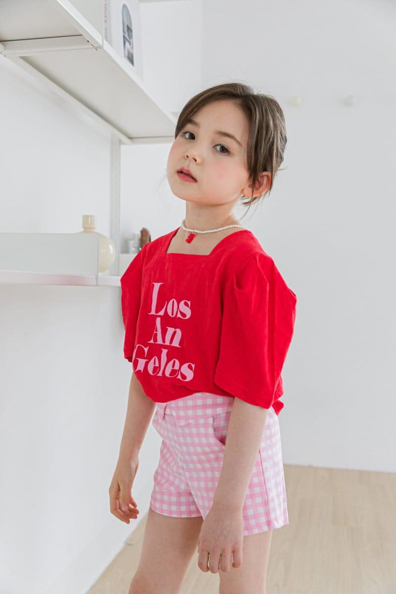 BERRY BERRY - Korean Children Fashion - #Kfashion4kids - Check Shorts - 7