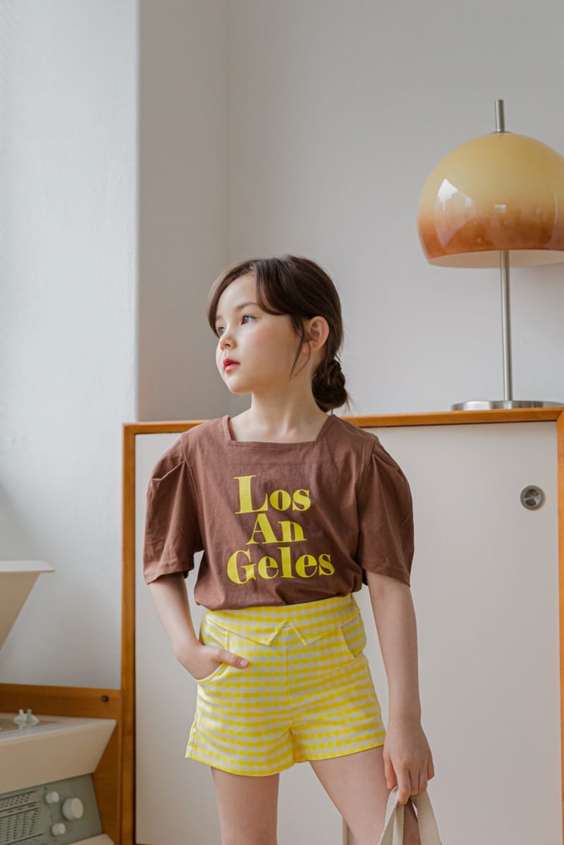 BERRY BERRY - Korean Children Fashion - #Kfashion4kids - Check Shorts - 8