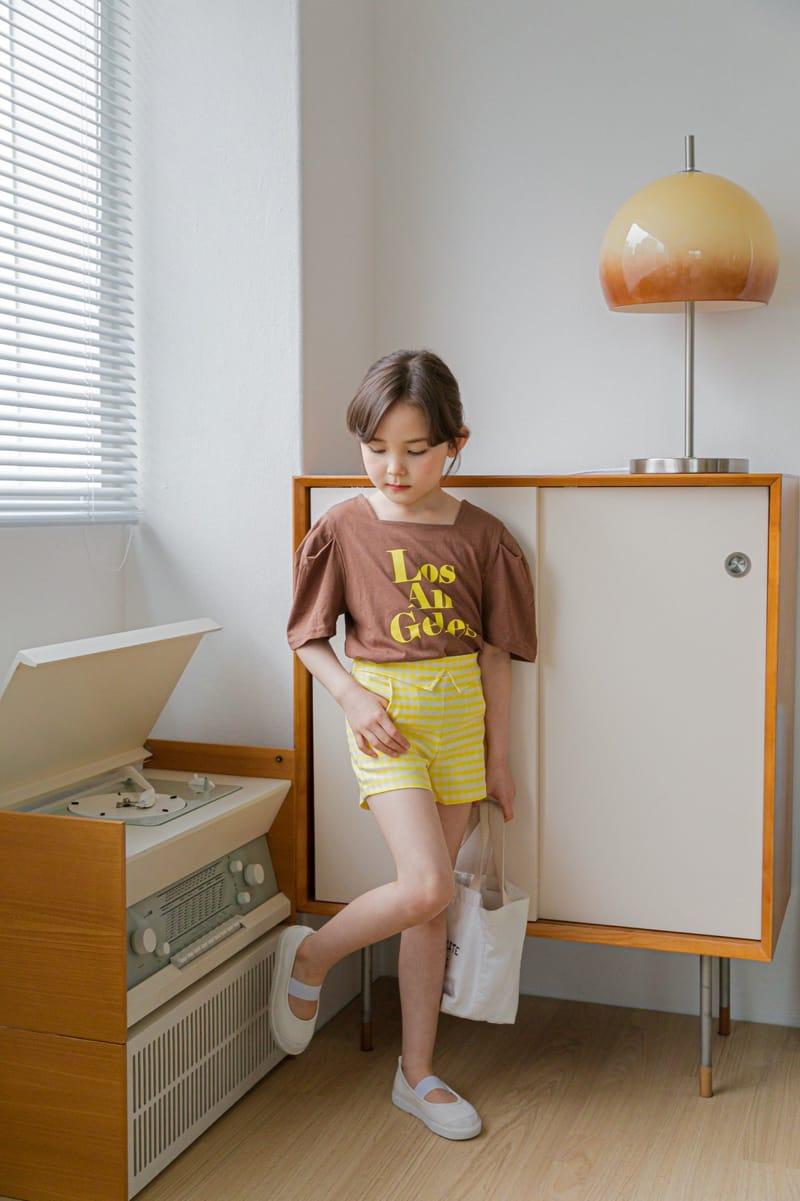 BERRY BERRY - Korean Children Fashion - #Kfashion4kids - Check Shorts - 9