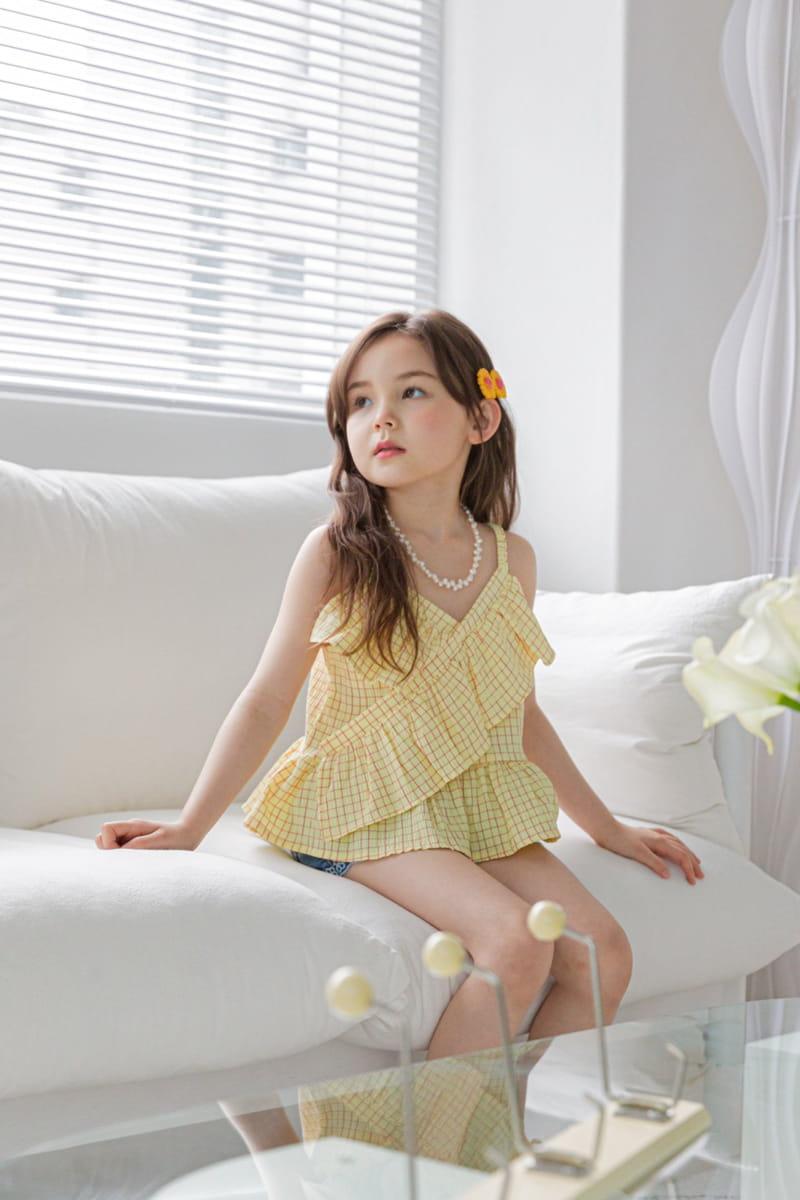 BERRY BERRY - Korean Children Fashion - #Kfashion4kids - Square Sleeveless