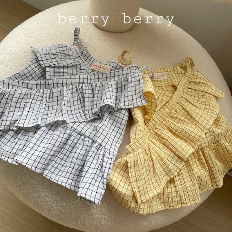 BERRY BERRY - Korean Children Fashion - #Kfashion4kids - Square Sleeveless  - 3