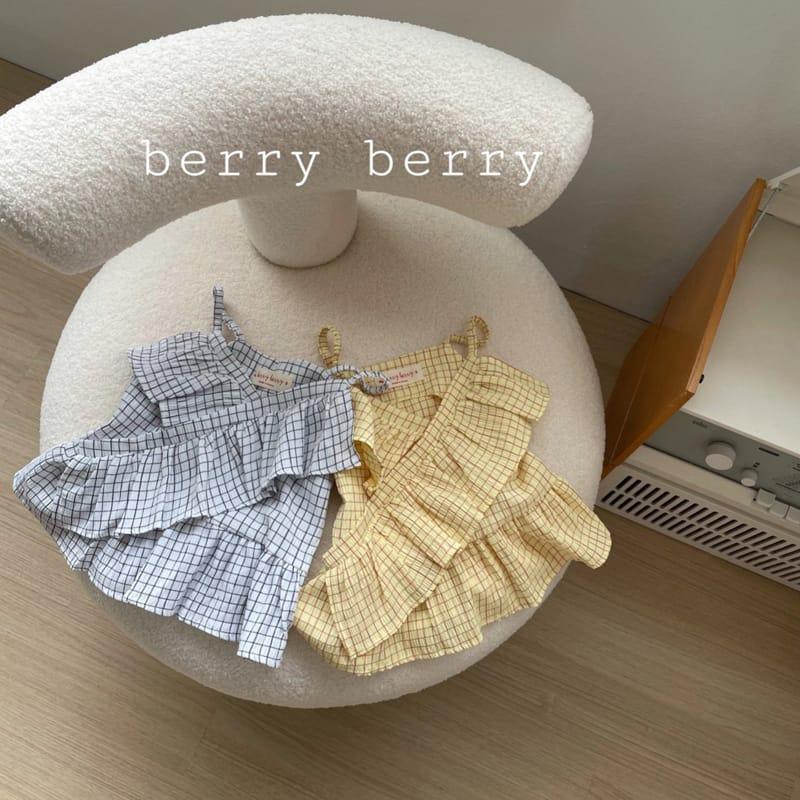 BERRY BERRY - Korean Children Fashion - #Kfashion4kids - Square Sleeveless  - 4