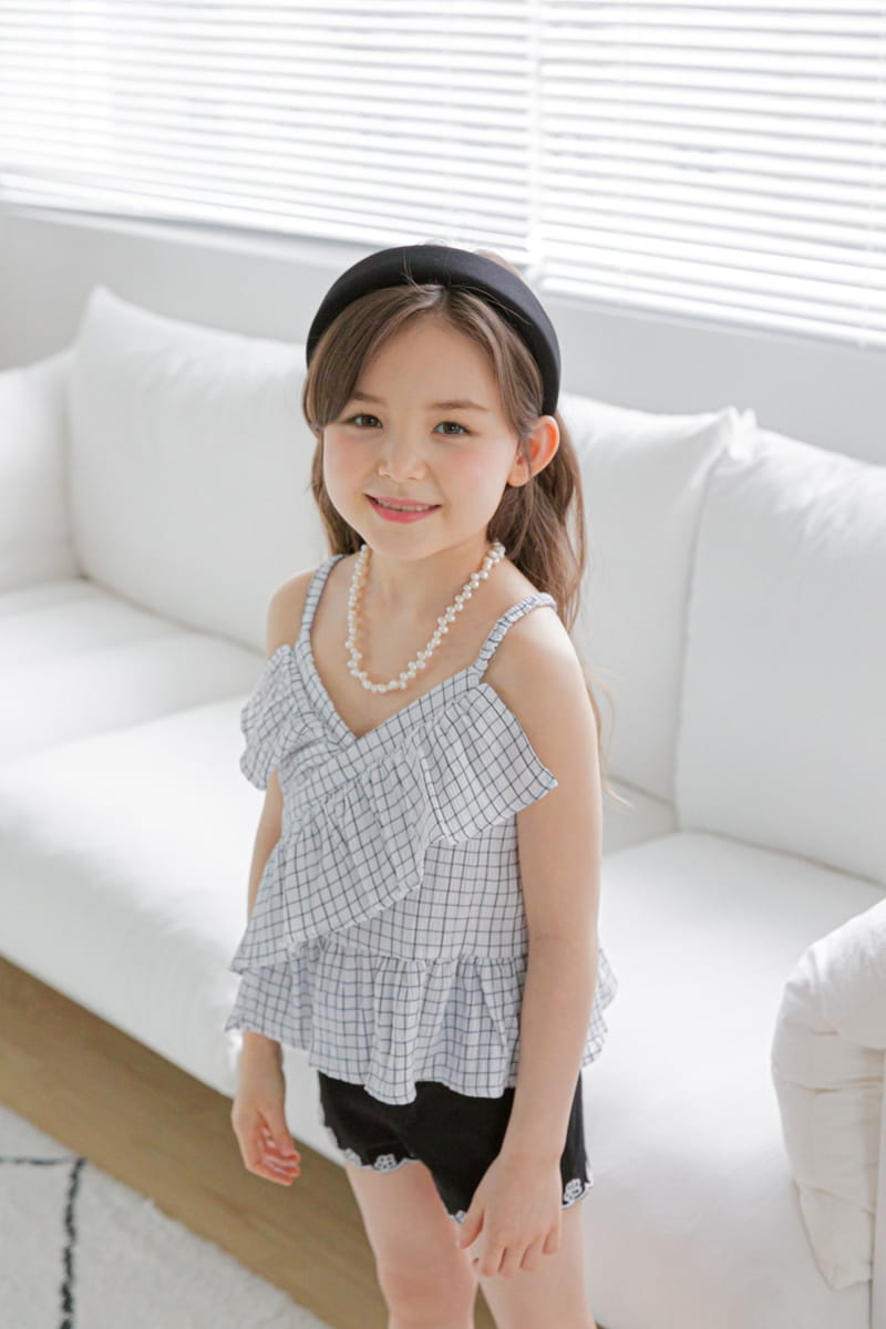 BERRY BERRY - Korean Children Fashion - #Kfashion4kids - Square Sleeveless  - 7