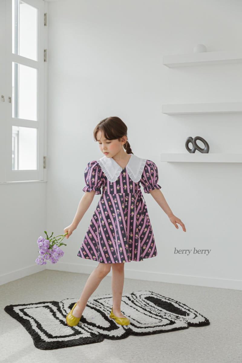 BERRY BERRY - Korean Children Fashion - #Kfashion4kids - Bear One-piece - 2