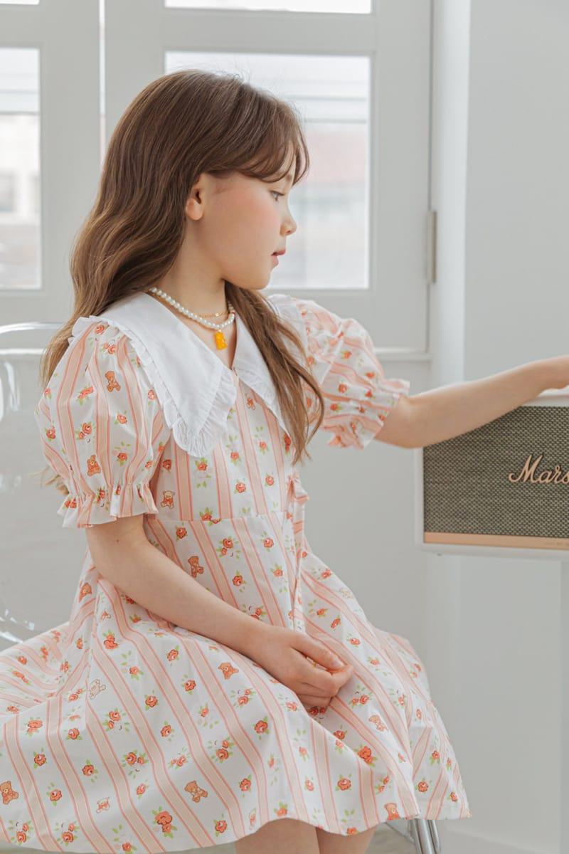BERRY BERRY - Korean Children Fashion - #Kfashion4kids - Bear One-piece - 6