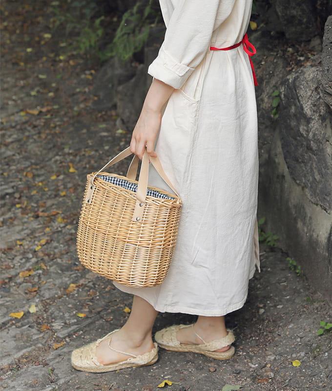 BIEN A BIEN - BRAND - Korean Children Fashion - #Kfashion4kids - Barin Basket Bag