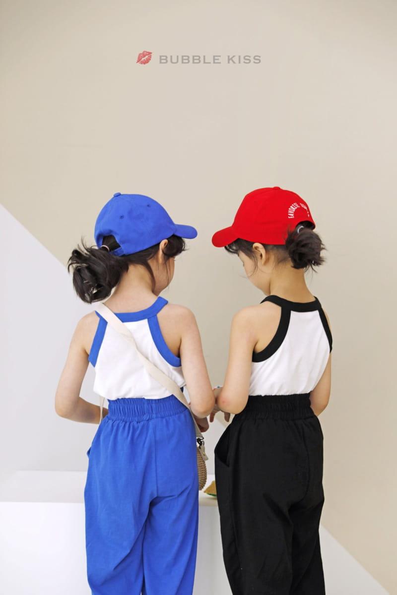 BUBBLE KISS - Korean Children Fashion - #Kfashion4kids - Buki Top Bottom Set - 10