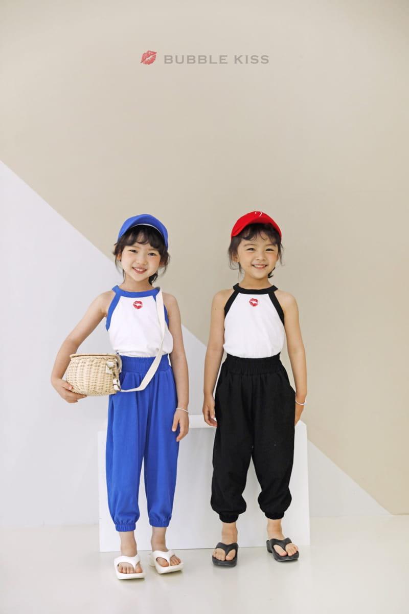 BUBBLE KISS - Korean Children Fashion - #Kfashion4kids - Buki Top Bottom Set - 3