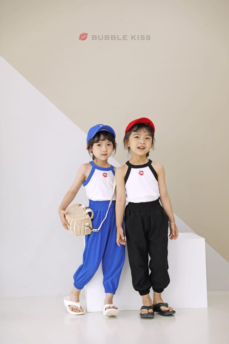 BUBBLE KISS - Korean Children Fashion - #Kfashion4kids - Buki Top Bottom Set - 4