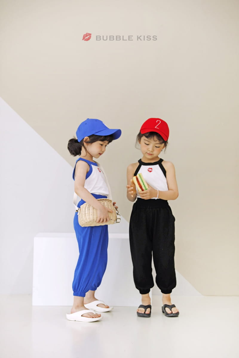 BUBBLE KISS - Korean Children Fashion - #Kfashion4kids - Buki Top Bottom Set - 5