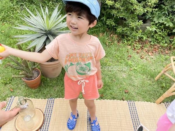 CONCOCTER - Korean Children Fashion - #Kfashion4kids - Fruit Tee - 8