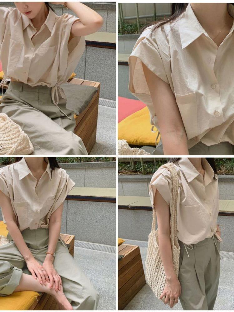 EVERYTHING WITH ME - Korean Children Fashion - #Kfashion4kids - Unicrop Shirt - 2